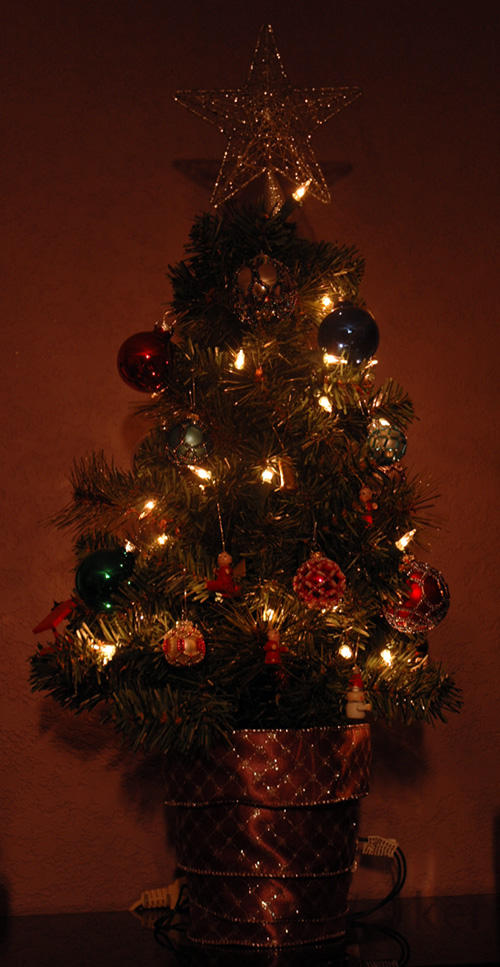 Miniature Christmas Tree 1