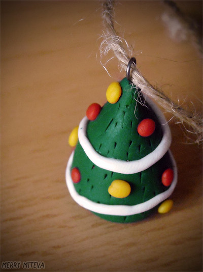 Polymer Clay Christmas Tree Decorations.Polymer Clay Christmas Tree Ornament By Merry339 On Deviantart