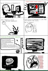 Le Computer Rage by PutinPot