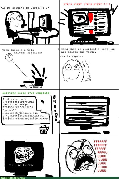 Le Computer Rage by PutinPot on DeviantArt