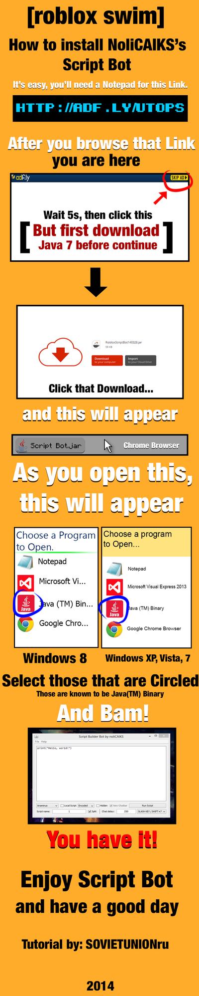 Roblox chat bot script