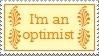 Im an optimist by thebluemaiden