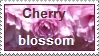 Cherry blossom stamp by thebluemaiden