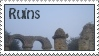 Ruins stamp by thebluemaiden