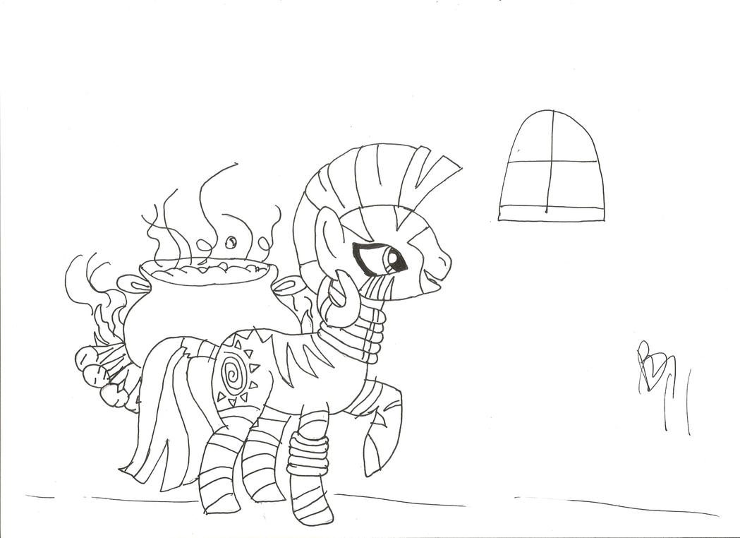 Zecora Coloring Pages Coloring