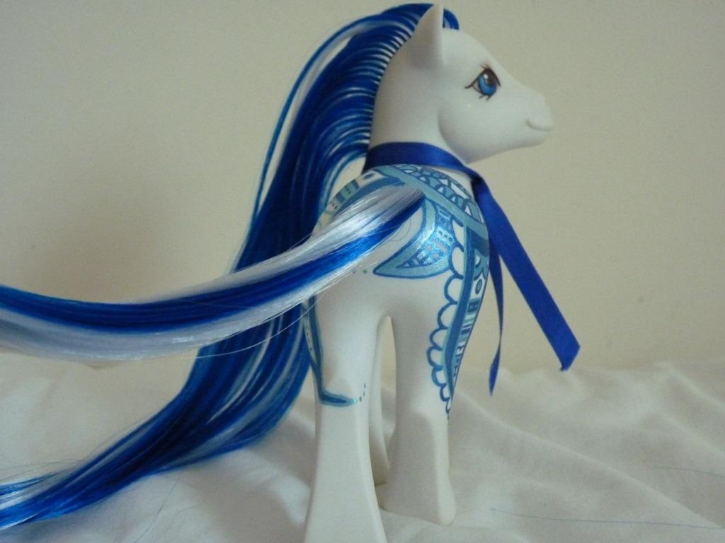 custom my little pony Blue ocean hena 2 by thebluemaiden