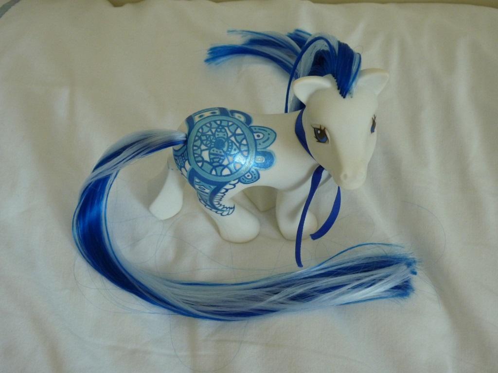 custom my little pony Blue ocean hena 3 by thebluemaiden