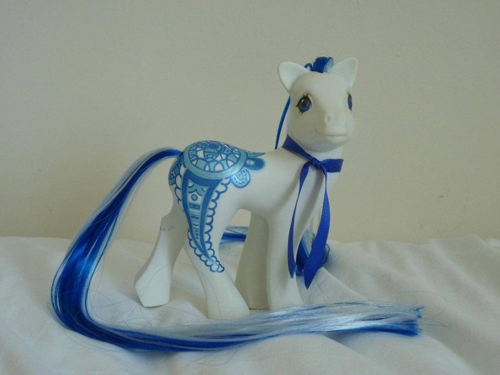 custom my little pony Blue ocean hena 4 by thebluemaiden