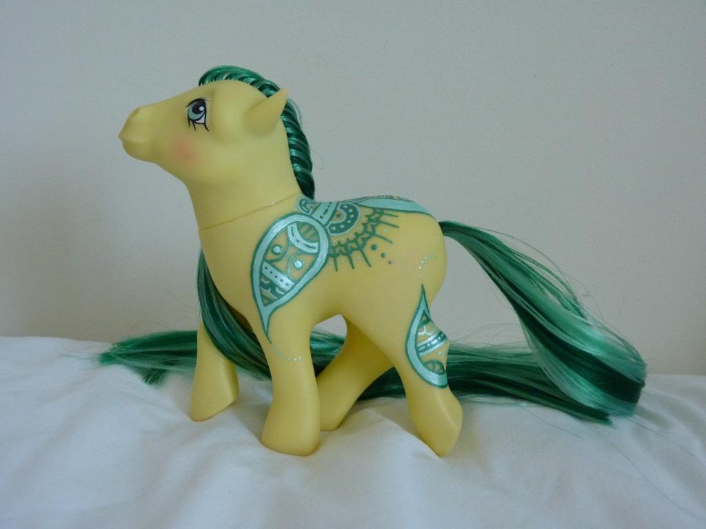 Custom my little pony Henna pony Halisa 5 by thebluemaiden