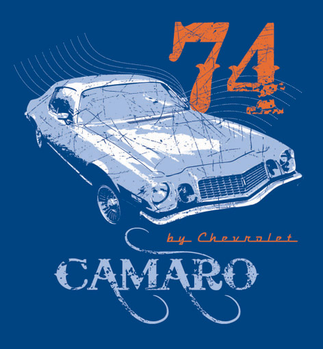 1974 Camaro Type LT T-Shirt by nikollas on DeviantArt