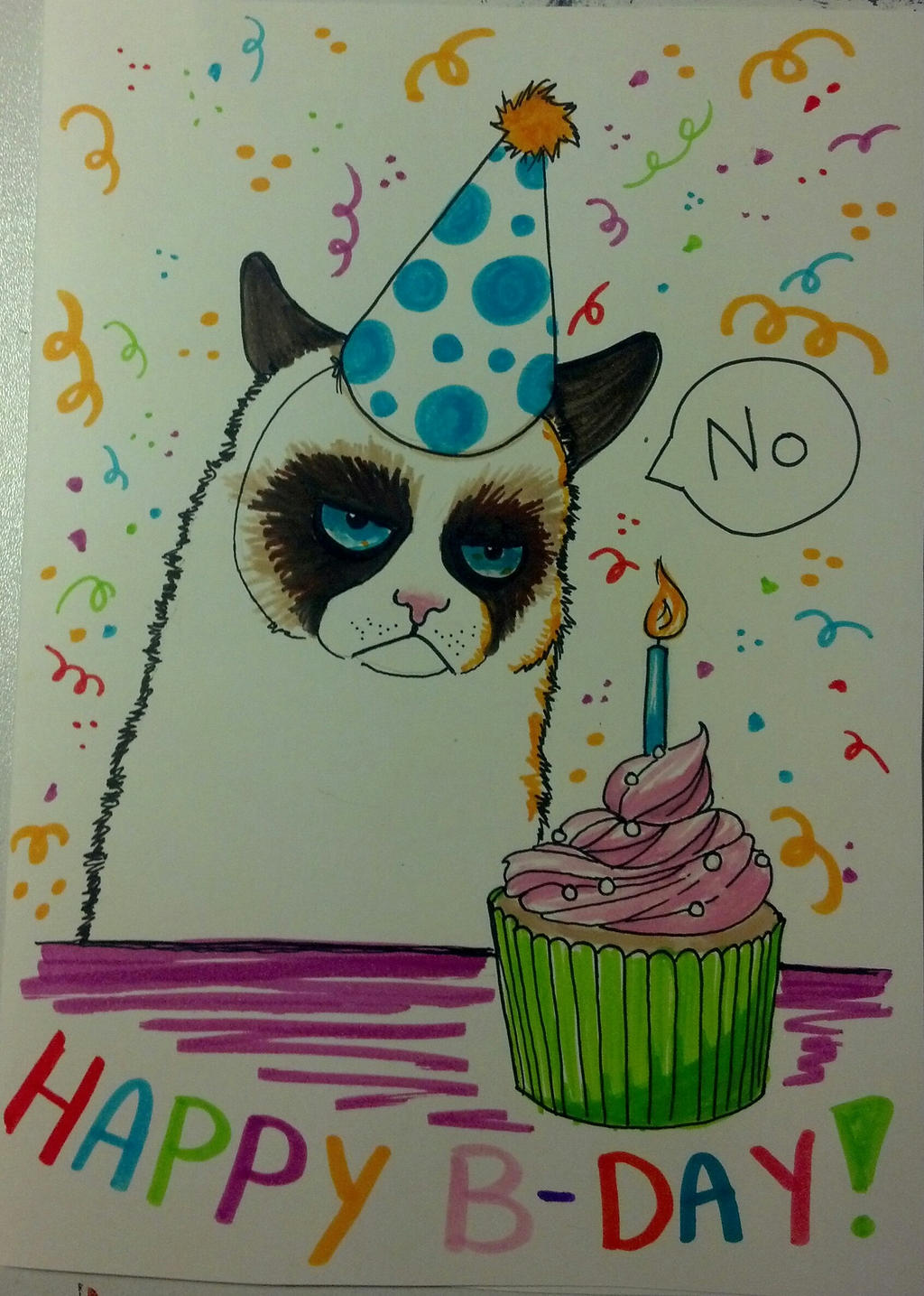 Happy birthday mom grumpy cat says no by kitsune kari on deviantart happy birthday mom grumpy cat says no by kitsune kari bookmarktalkfo Image collections