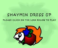 Shaymin Dress up DO NOT FAV