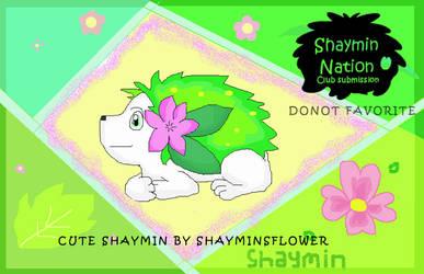 Cute Shaymin DO NOT FAV