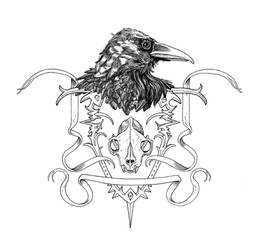 Raven Crest by RottenOak