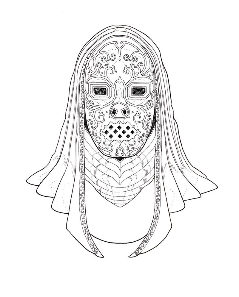 Death Eater Mask By Rottenoak On Deviantart