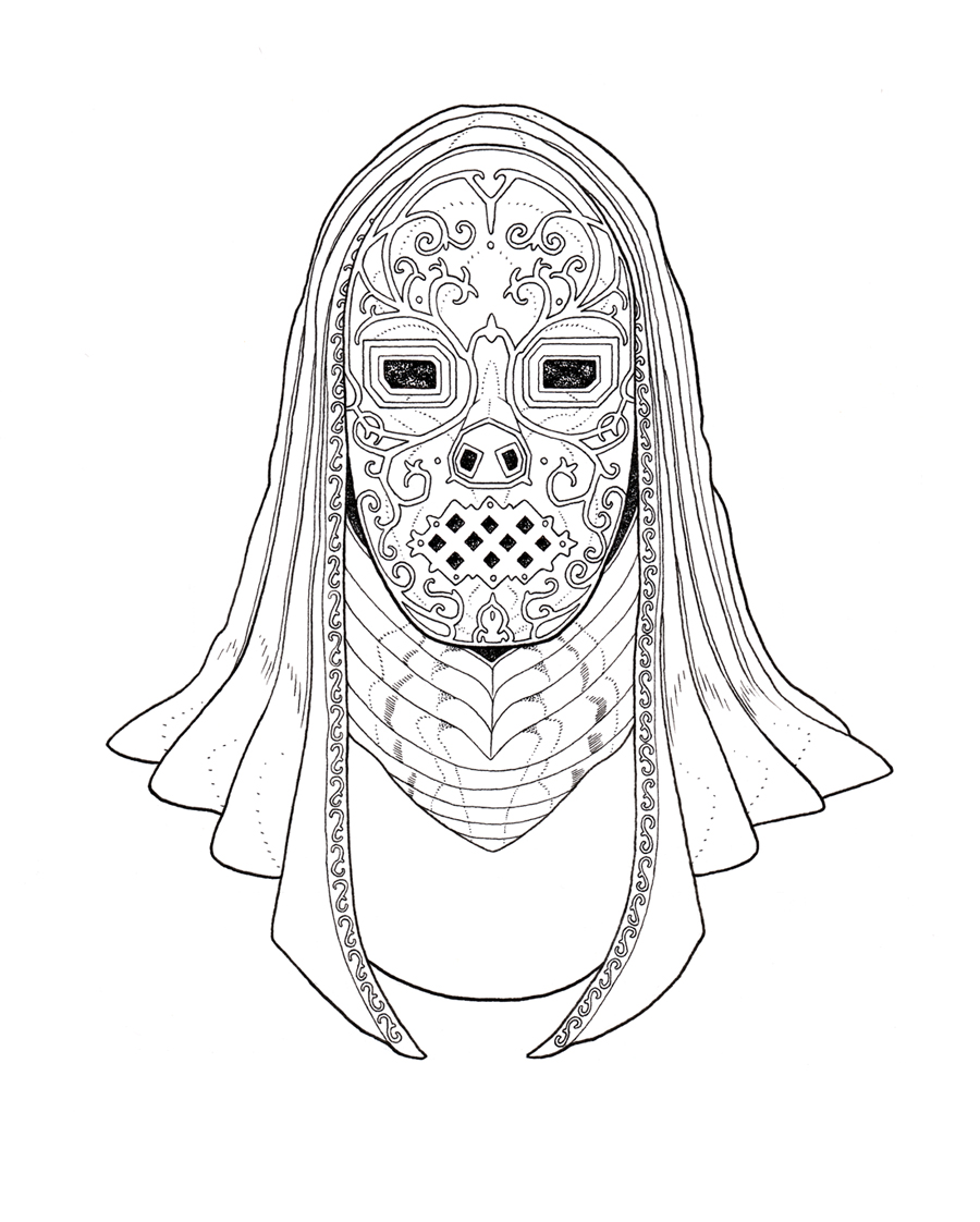Death Eater Coloring Pages Harry Potter