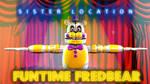 Funtime Fredbear Speed Model | SISTER LOCATION #1