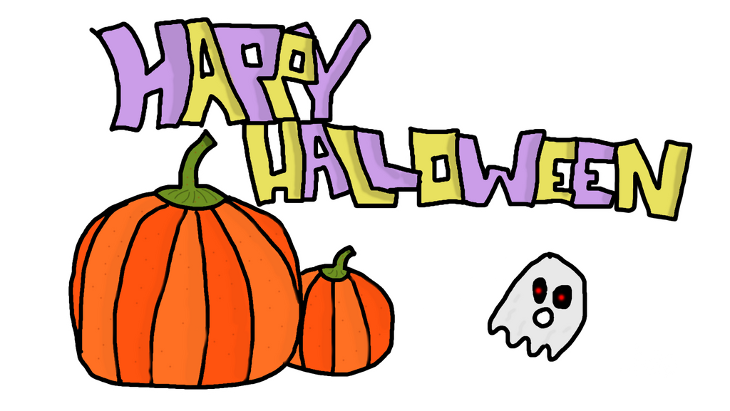 Happy Halloween by ANGUs-GAMEs