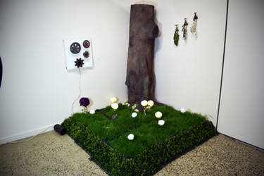 Finished Forest Art Installation