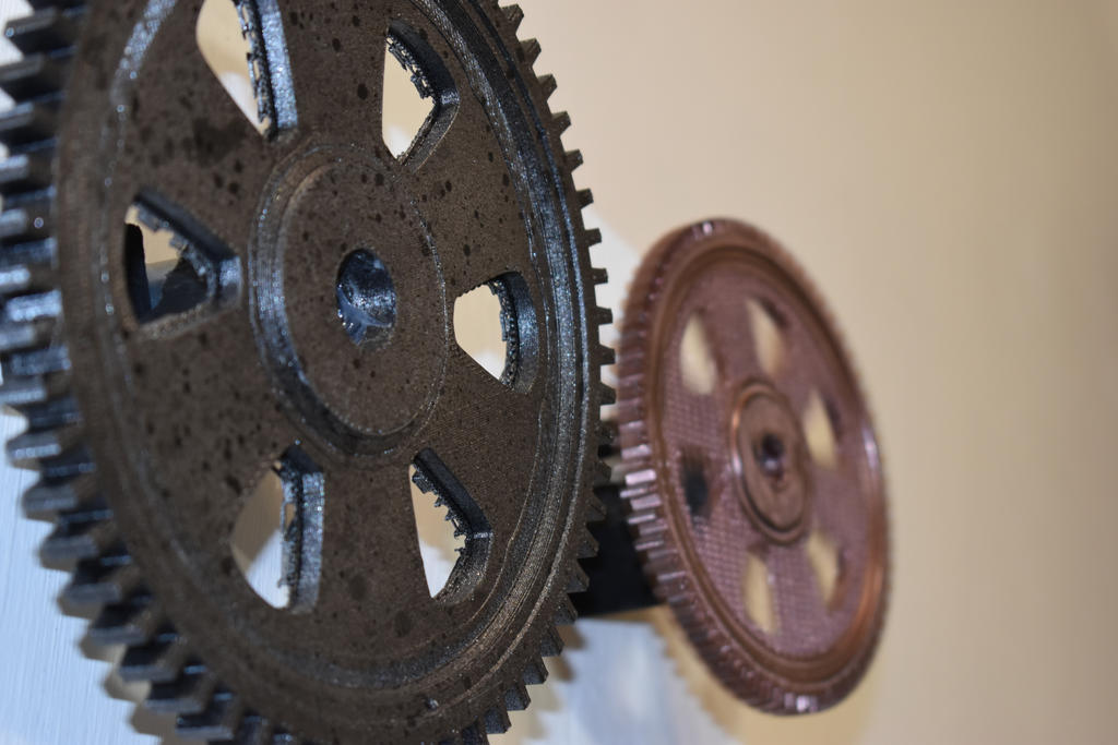 3D-Printed Cogs by AngusWW