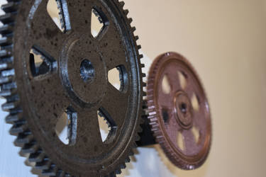 3D-Printed Cogs
