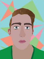 Self Portrait - VECTOR ART