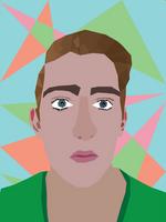 Self Portrait - VECTOR ART
