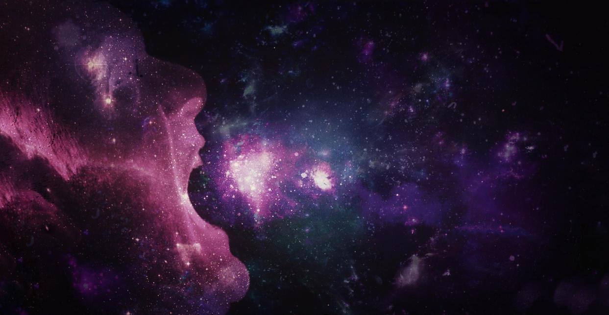 Screaming galaxy by MasterNatho
