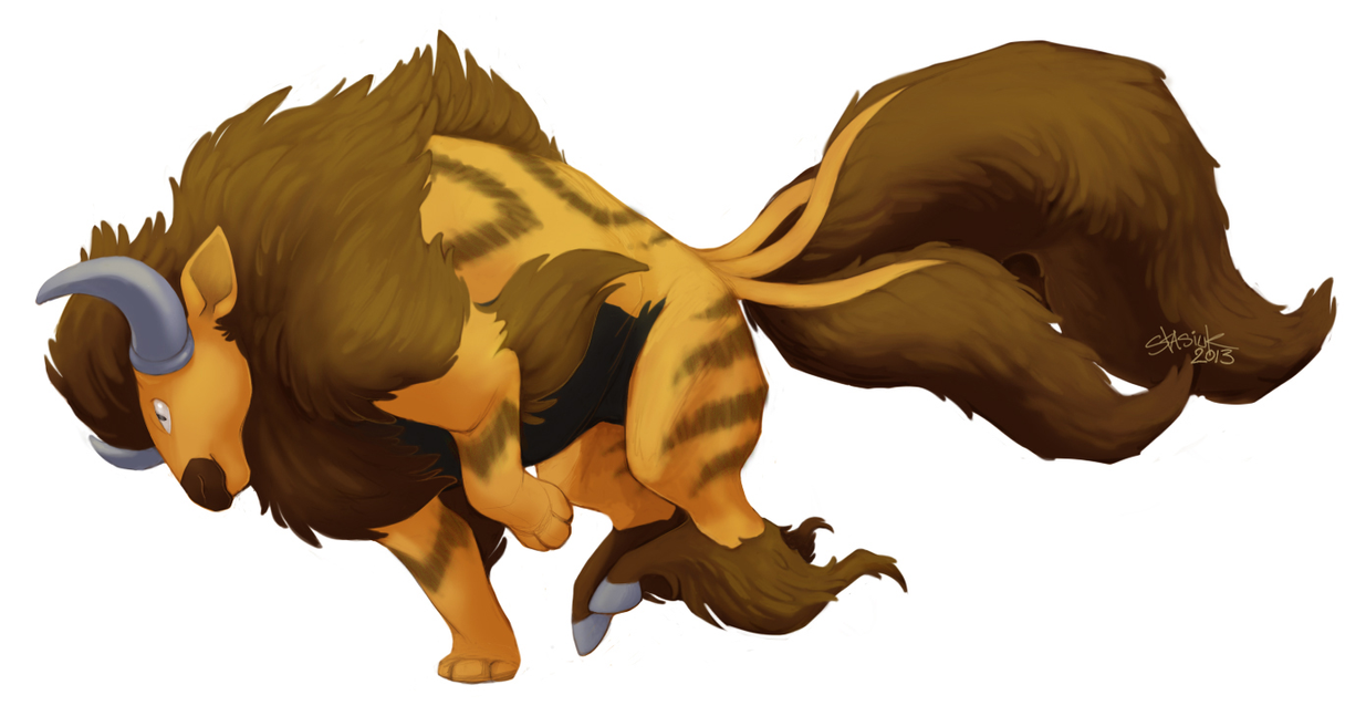 [Resim: tauros___arcanine_pokemon_fusion_by_stasiuk-d67twzl.png]