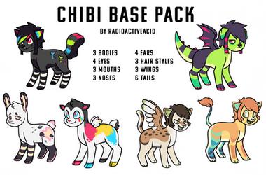 $5 Chibi Base Pack