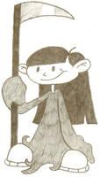 Kuki as the Grim Reaper