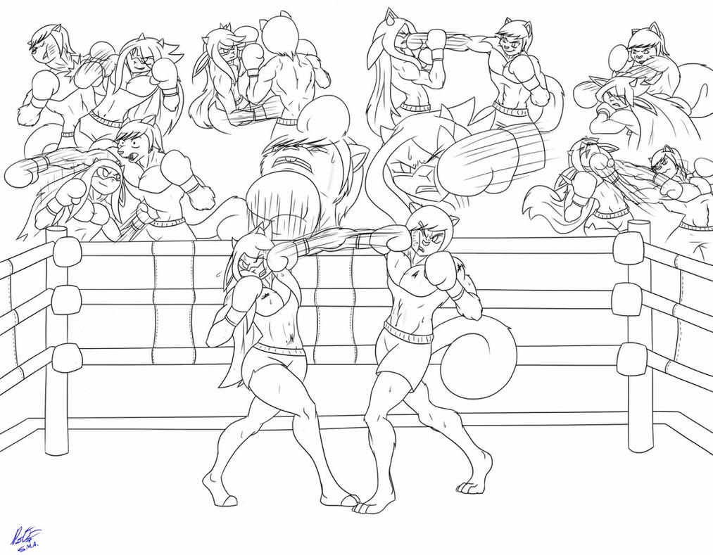 Kira vs Taren by Taren14