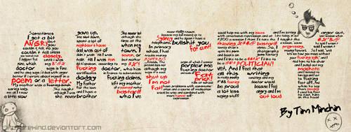 Angry Poem by Futurekind