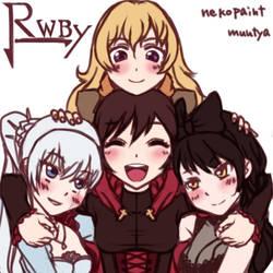RWBY by muutya