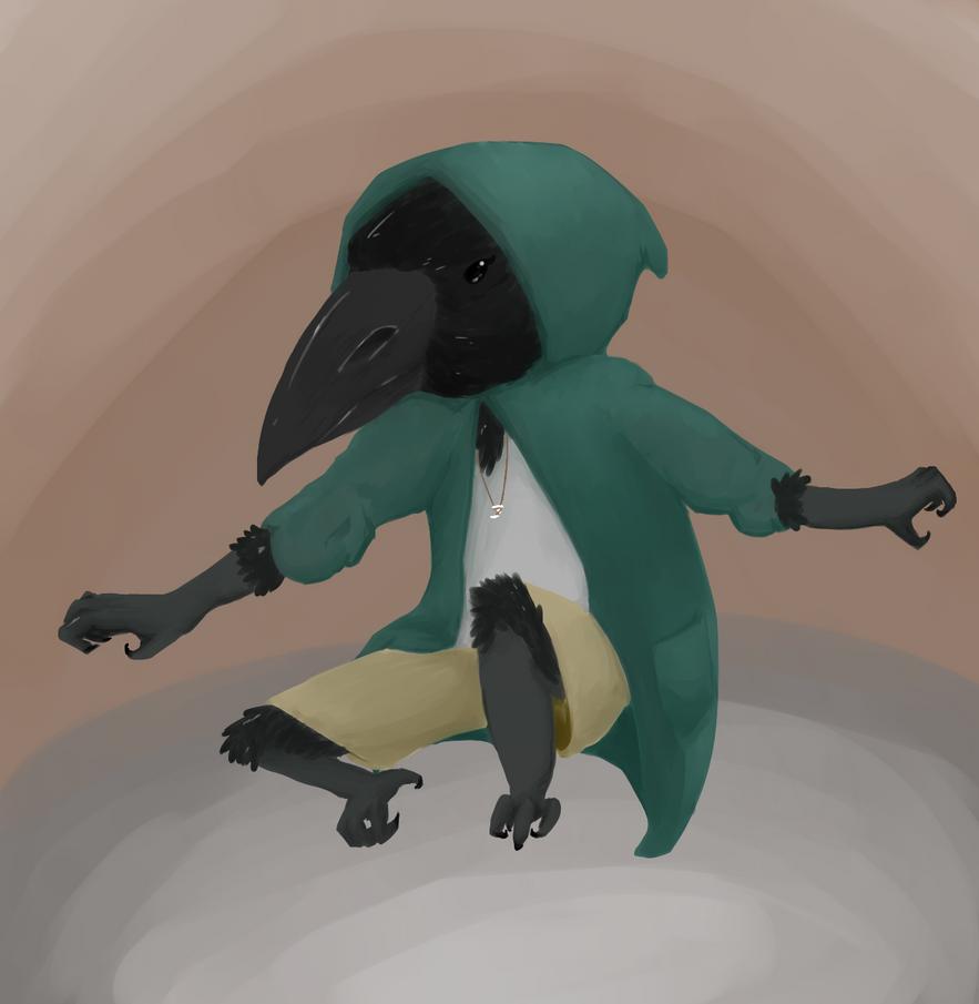 Bird Child by Nekopheonix