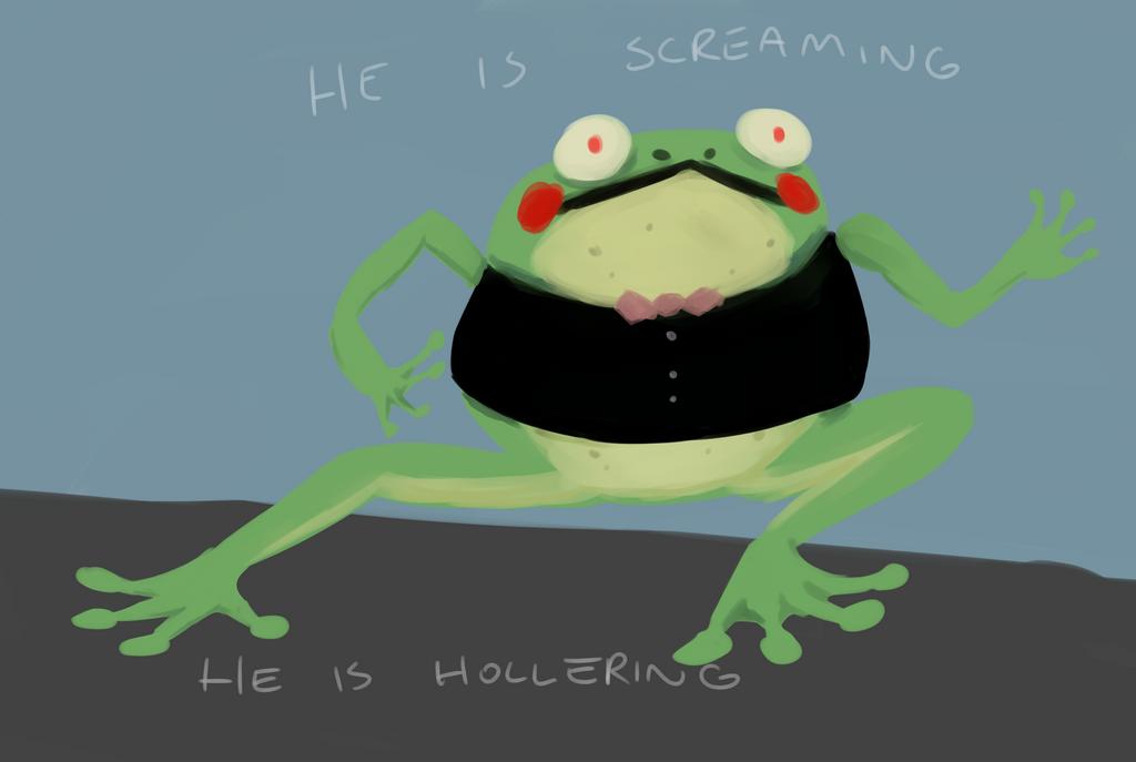 frogman by Nekopheonix