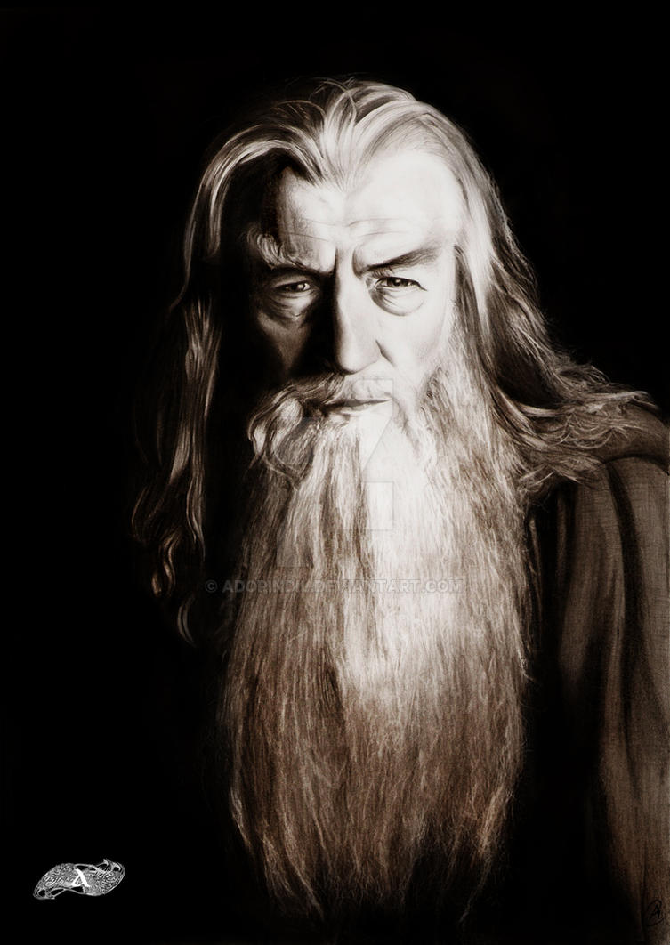 Gandalf the Grey by AdorindiL