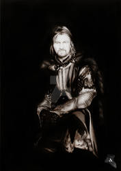 Boromir son of Gondor by AdorindiL