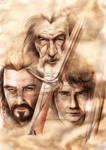 Elven Blades by AdorindiL