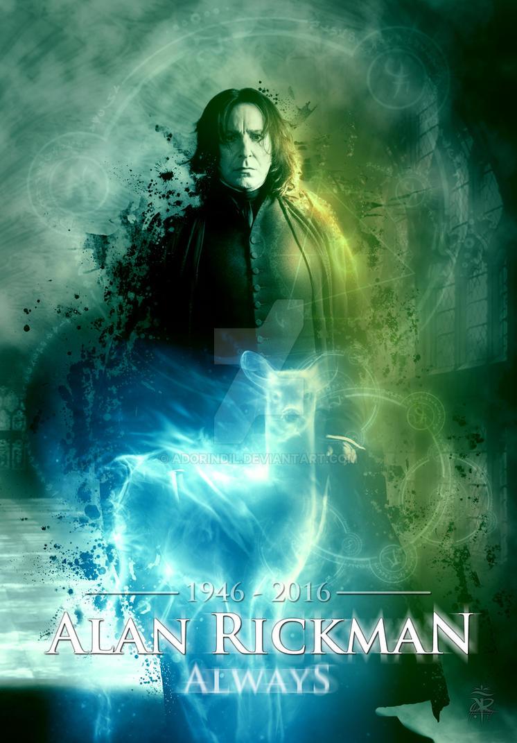 aa23e7c3b33 ~Alan Rickman Severus Snape~ by AdorindiL