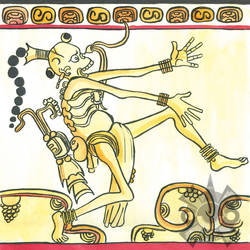Maya Death God A