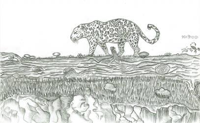jagoer in forest by alown