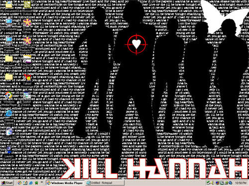 Kill Hannah, Kennedy desktop by maliciousfaerie
