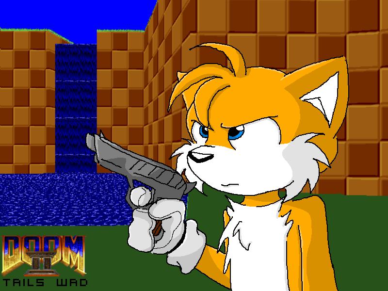 Doom II Tails Wad Art 1 by MikeyTheFox on DeviantArt