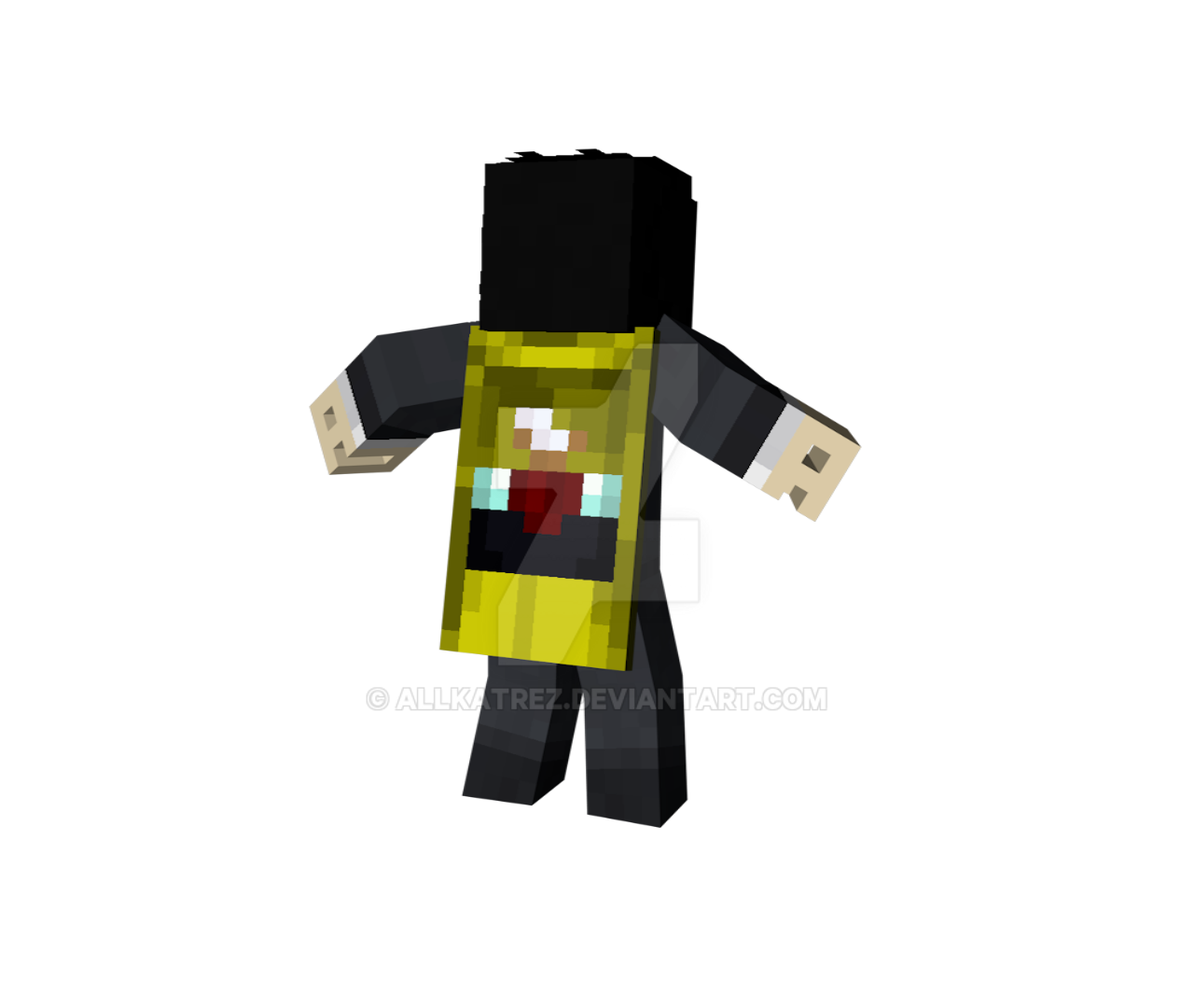 Minecon 2016 Cape by Allkatrez on DeviantArt