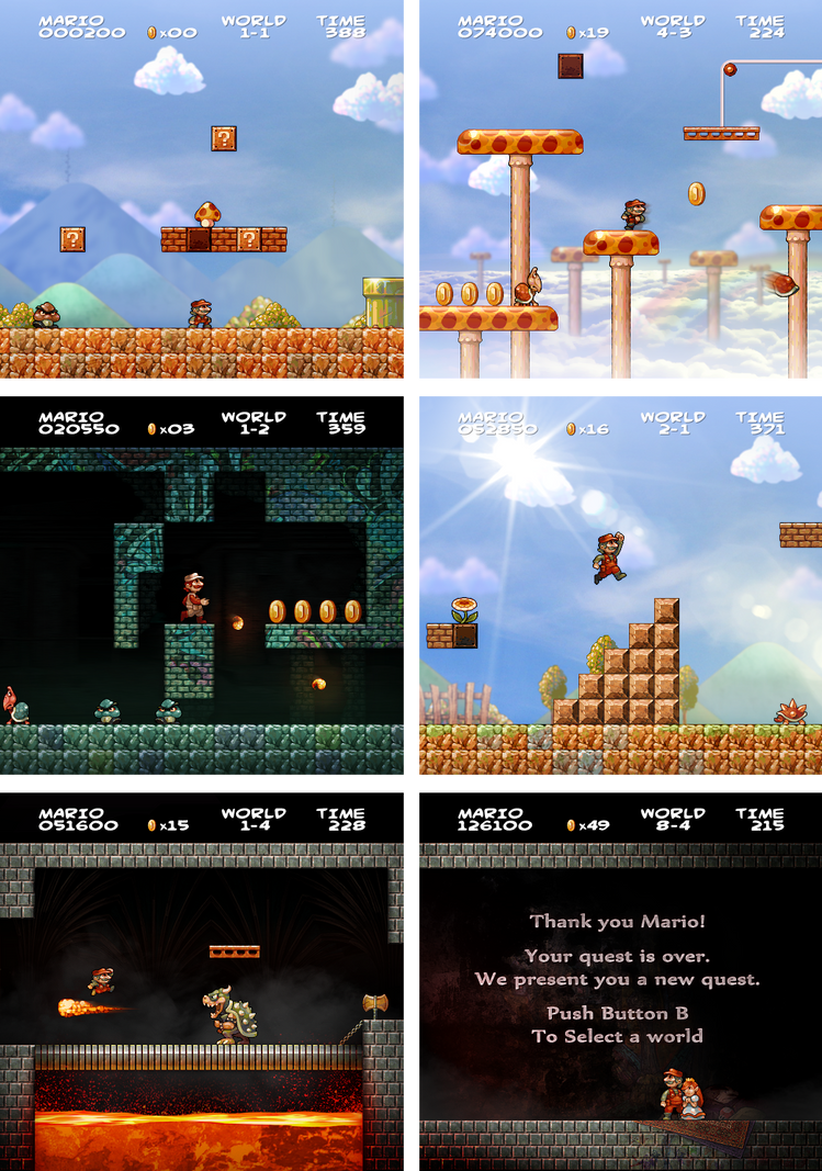 Super Mario Bros HD by JINNdev