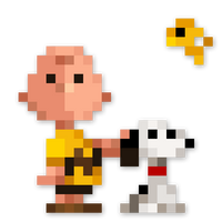 Day #81 - Charlie Brown, Snoopy and Woodstock