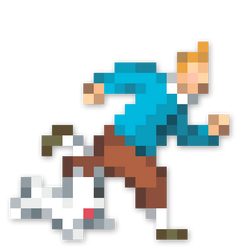 Day #113 - Tintin And Snowy