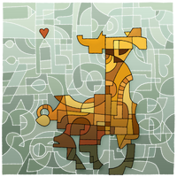 Deviantart 16th Birthday llama!