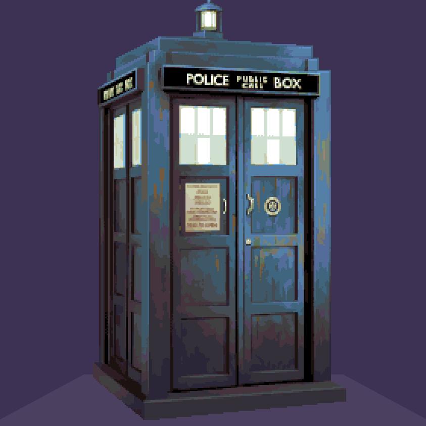 Doctober - TARDIS by JINNdev